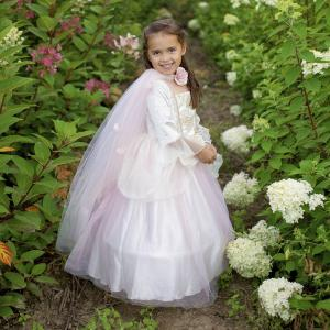 Great Pretenders - 52713 - Cape de princesse or et rose pâle, taille EU 92-104 - 2-4 ans (421150)
