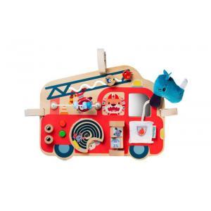 Lilliputiens - 83180 - Camion de pompier Panneau d'activités (421518)