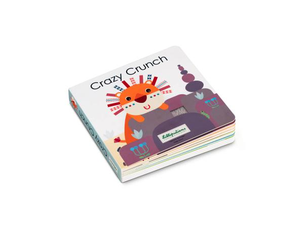 Crazy crunch - livre sonore & tactile
