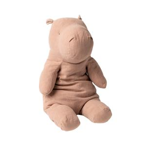 Maileg - 16-0901-00 - Safari friends, Big Hippo - Dusty Rose - Taille 54 cm - de 0 à 36 mois (421676)
