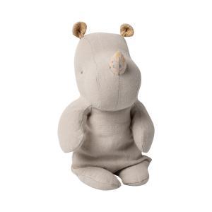 Maileg - 16-0921-00 - Peluche Safari friends, Petit Rhino -  22 cm (421712)