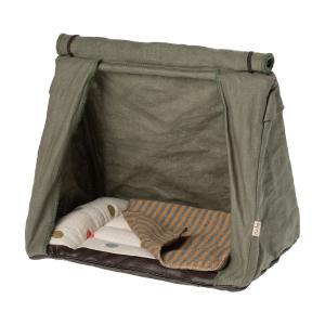 Maileg - 11-0403-00 - Happy camper tent, Mouse - Taille 17,5 cm - à partir de 36 mois (421732)