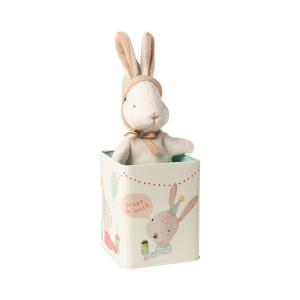 Maileg - 16-0993-01 - Happy day bunny in box, Small - Taille 16 cm - de 0 à 36 mois (421780)