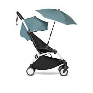 Babyzen - BU373 - Poussette YOYO² 6+ ombrelle Aqua - cadre blanc (421856)