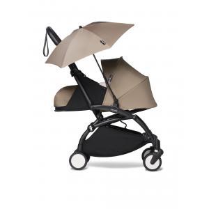 Babyzen - BU371 - Poussettepour nouveau-né Babyzen YOYO2 avec son ombrelle taupe noir 0+ (421858)