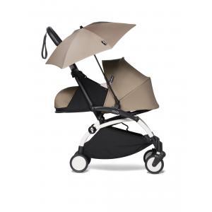 Babyzen - BU362 - Poussette YOYO2 voyage bébé et ombrelle taupe blanc 0+ (421870)