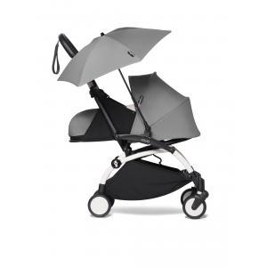 Babyzen - BU358 - YOYO 2 poussette compacte Babyzen avec son ombrelle gris blanc 0+ 2019 (421876)