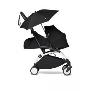 Babyzen - BU359 - YOYO 2 Babyzen poussette compacte et son ombrelle noir blanc 0+ (421878)