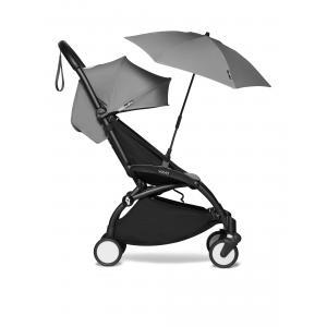 Babyzen - BU385 - Poussette YOYO² 6+ ombrelle Gris - cadre noir (421900)