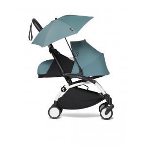 Babyzen - BU355 - YOYO2 poussette Babyzen compacte avec son ombrelle aqua blanc 0+ (421912)