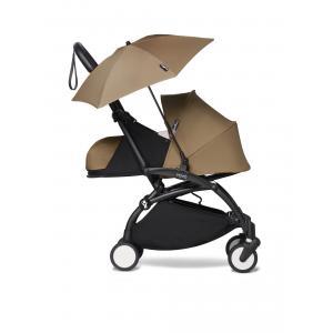 Babyzen - BU372 - Poussette Babyzen YOYO 2 bébé face aux parents avec son ombrelle toffee noir 0+ (421930)