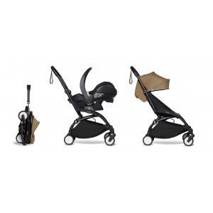 Babyzen - BU336 - Poussette pratique YOYO 2 toffee et siège auto bébé iZi Go Modular - noir 6+ (421938)