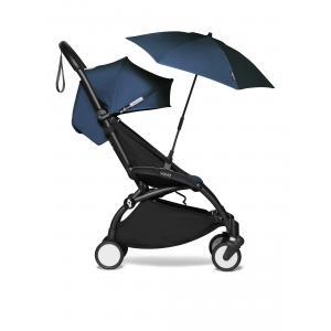 Babyzen - BU383 - Poussette pour voyage avion et son ombrelle Bleu Air France noir 6+ (421940)