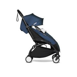 Babyzen - BU437 - Poussette compacte et pratique YOYO 2 Babyzen et chancelière blau Air France noir 0+ 6+ (422018)