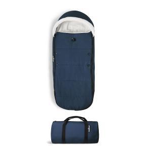 Babyzen - BU419 - Poussette YOYO² 6+ chancelière Bleu Air France - cadre noir (422054)