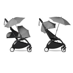 Babyzen - BU403 - Poussette YOYO2 compacte avec ombrelle gris noir 0+ 6+ (422086)