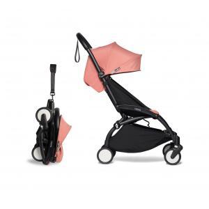 Babyzen - BU402 - Poussette YOYO² 0+ 6+ ombrelle Ginger - cadre noir (422088)