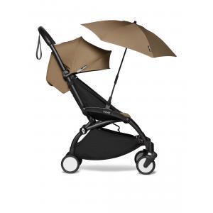 Babyzen - BU390 - Poussette YOYO² 6+ ombrelle Toffee - cadre noir (422112)