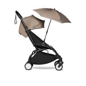 Babyzen - BU389 - Poussette Babyzen YOYO2 pratique pour voyage et ombrelle taupe noir 6+ (422114)