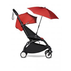 Babyzen - BU388 - Poussette YOYO² 6+ ombrelle Rouge - cadre noir (422116)