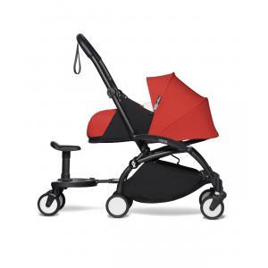 Babyzen - BU478 - Poussette YOYO² 0+ Rouge, planche à roulettes - cadre noir (422140)