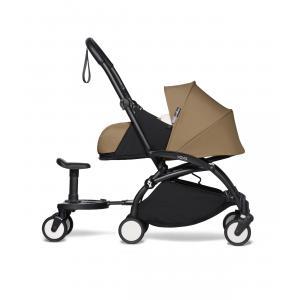 Babyzen - BU480 - poussette maniable et légère toffee et planche à roulettes noir 0+ (422144)