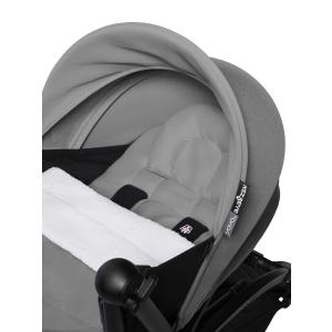 Babyzen - BU502 - Poussette naissance maniable YOYO2 gris et planche à roulettes blanc 0+ 6+ (422188)