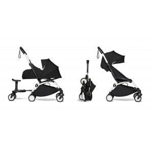 Babyzen - BU503 - Poussette maniable et compacte YOYO2 Babyzen noir et planche à roulettes blanc 0+ 6+ (422190)
