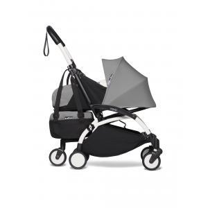 Babyzen - BU520 - Poussette YOYO2 pliable avec sac shopping gris blanc 0+ (422224)