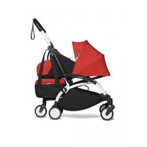 Babyzen - BU523 - Poussette YOYO² 0+ YOYO bag Rouge - cadre blanc (422230)