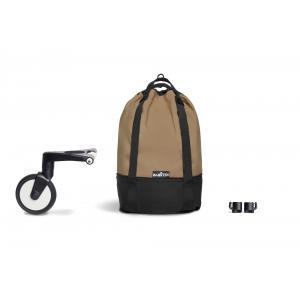Babyzen - BU552 - Poussette maniable YOYO2 Babyzen  et légère avec YOYO+ bag toffee noir 6+ (422288)