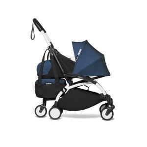 Babyzen - BU554 - Poussette dès la naissance 2 en 1 avec Yoyo+ shopping bag bleu Air France blanc 0+ 6+ (422292)