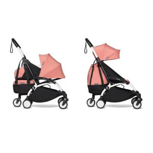 Babyzen - BU555 - Poussette YOYO2 Babyzen transportable en avion et Yoyo+ shopping bag ginger blanc 0+ 6+ (422294)