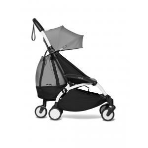 Babyzen - BU556 - YOYO2  2 en 1 poussette maniable et compacte avec Yoyo+ shopping bag gris blanc 0+ 6+ (422296)