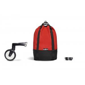 Babyzen - BU559 - Poussette YOYO² 0+ 6+ Rouge, YOYO bag - cadre blanc (422302)