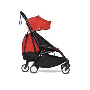 Babyzen - BU568 - Poussette pratique pour voyage Babyzen YOYO2 avec YOYO+ sac shopping rouge noir 0+ 2019 et 6+ (422320)