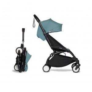 Babyzen - BU265 - Poussette YOYO² cadre noir 6+ pack couleur aqua (422398)