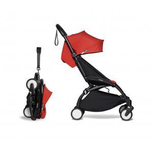 Babyzen - BU271 - Poussette YOYO² cadre noir 6+ pack couleur rouge (422410)