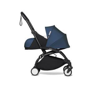 Babyzen - BU275 - YOYO2 poussette naissance transportable bleu Air France cadre noir 0+ (422418)
