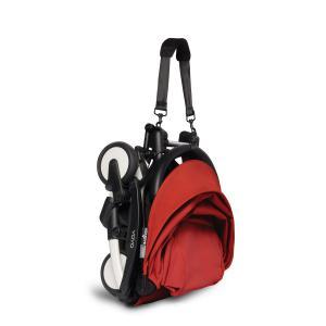 Babyzen - BU325 - Poussette YOYO² 6+ Rouge, siège auto - cadre blanc (422518)