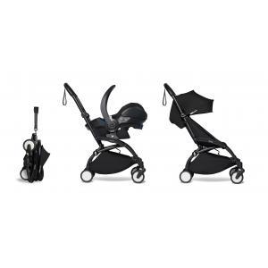 Babyzen - BU332 - YOYO2 poussette pratique et légère noir avec siège auto bébé iZi Go Modular - noir 6+ (422532)