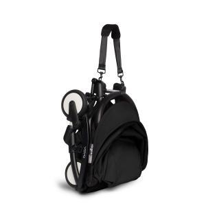 Babyzen - BU332 - Poussette YOYO² 6+ Noir, siège auto - cadre noir (422532)