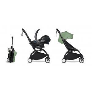Babyzen - BU333 - Poussette pratique et légère YOYO2 peppermint avec siège auto bébé iZi Go Modular - noir 6+ (422534)