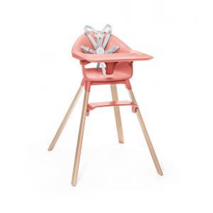 Stokke - 552003 - Chaise haute Stokke® Clikk Haute Corail (422762)