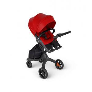 Stokke - 562605 - Stokke® Xplory® avec guidon en smili cuir noir Rouge (422794)