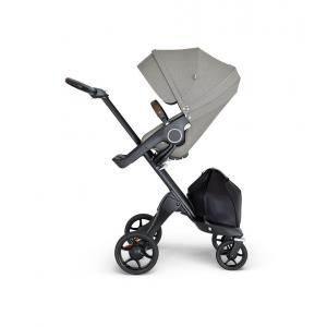 Stokke - 562606 - Stokke® Xplory® avec guidon en simili cuir marron Brushed Gris (422798)