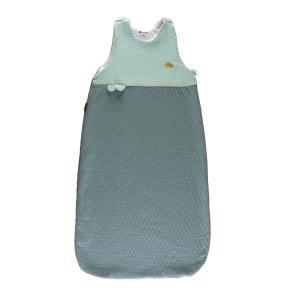 Candide - 115285 - Douillette réglable 80-100 cm chaude jersey matelassé/lange vert (422888)