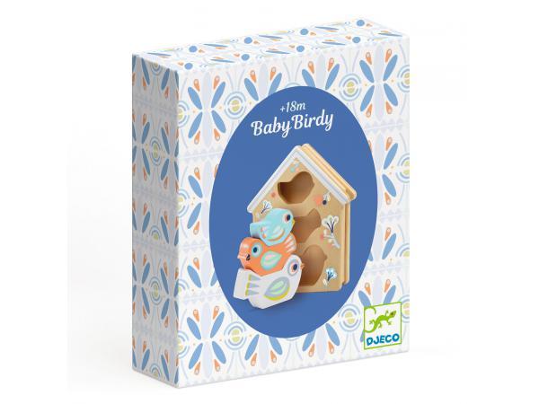 Baby blanc - babybirdi