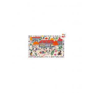 Djeco - DJ07595 - Puzzle observation L'école des hérissons - 35 pièces (423162)