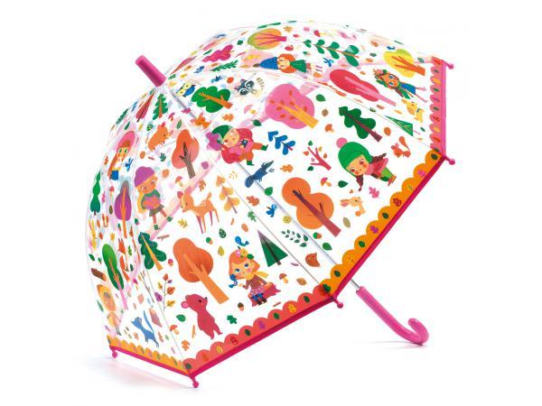 Parapluies forêt